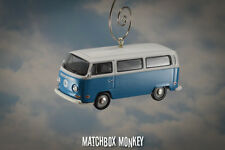 LOST Dharma Blue Volkswagen T1 Type 2 Bus Christmas Ornament VW Van Bay Window