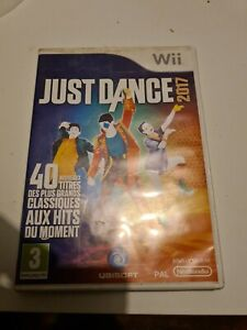 JUST DANCE 2017 JEU NINTENDO WII Rare