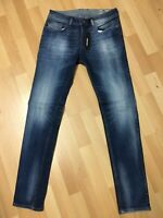 MEN Diesel SLEENKER Stretch Denim 0860A BLUE Slim W29 L32 H5.5 RRP£180