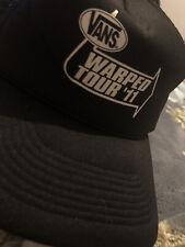 Official Vans Warped Tour Black Hat 11