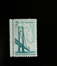 1964 5c Verrazano-Narrows Bridge, New York Scott 1258 Mint F/VF NH