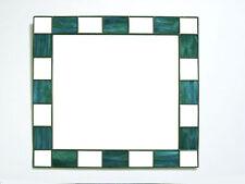 Handmade Glass Frame Square Decorative Mirrors