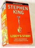 STEPHEN KING LISEY'S STORY AUDIO CASSETTE 19 HRS MARE WINNINGHAM FREE UK POST