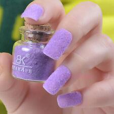 24 Colors Nail Art Glitter Velvet Flocking Powder for Acrylic liquid UV GEL