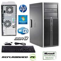 SALE!! Fast HP Compaq 6005 Pro Tower Computer PC WIN 10 PRO WIFI
