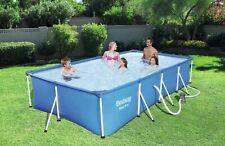 💸Bestway 400x211x81 Piscina DISPONIBILE  rettangolare + pompa fuori terra pool