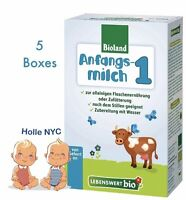 Holle Lebenswert Stage 1 Organic Formula,5 Boxes,0-6 months,500g(17.4oz) 10/2018