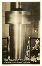 Grand Coulee Dam Generator Shaft 1947 Real Photo Postcard