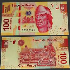 MEXIQUE MEXICO 100 pesos 2012 Unc. Pick: 124 F #