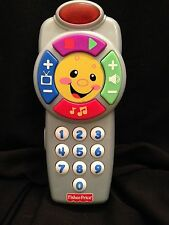 Fisher Price Electronic Interactive Cell Phone Toy Flashing Lights Buttons 2011