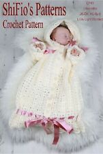 CROCHET PATTERN for BABY SLEEPING BAG 0-3mths #41 NOT CLOTHES