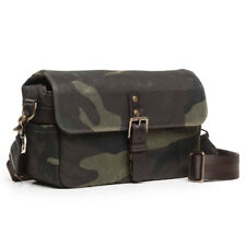 ONA The Bowery Canvas (Camouflage) Camera Bag - Handcrafted Premium Bag
