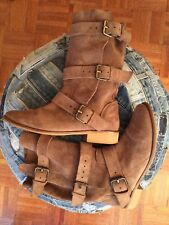 Maje Kriminel Brown Suede slouch boots sz US 7 or EU 38 made in Spain!