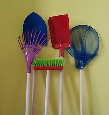 5-er SET Kinder-Gartengerät +Kinderschaufel + Spitzschaufel 105 cm Gartengeräte