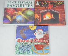 NEW CHRISTMAS MUSIC CDs Favorites At Home & Santa Claus is Coming to Town