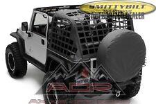 C.RES System Cargo Net Fits 2007-2017 Jeep Wrangler JK Smittybilt 571035 Black