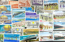 Bridges on stamps collection of 50 all different