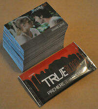True Blood Premiere Edition Chase/Insert Parallel Set 98 cards + Wrapper