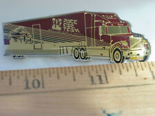 White Semi Truck Pin, Vintage Worlds Series Pace Car PPG Team Racing Pin (PPG #3