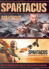 SPARTACUS BLOOD AND SAND & GODS OF THE ARENA 2012 RITTENHOUSE PROMO CARD P1