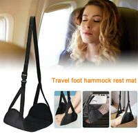 Travel Airplane Hanger Footrest Hammock Premium Memory Foam Foot Rest Pillow