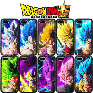 Dragon Ball Z Super Saiyan Blue Phone Case Vegeta DBZ For iPhone Samsung Cover
