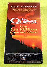 The Quest ~ New VHS Movie Screener Promo Demo Tape ~ 1996 Van Damme Action Video