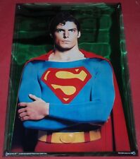Movie Poster Superman the Movie 1978 Mylar Vintage  21x30 Christopher Reeve 1978