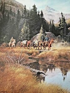 """FRANK MCCARTHY """"PACKING IN"""" 1976 399/1000 SIGNED AND NUMBERED"""