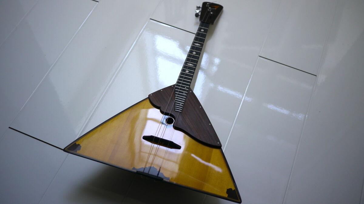 Russian Balalaika Domra instruments
