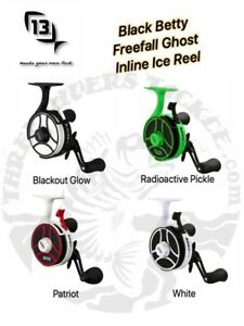 13 Fishing FreeFall Ghost Ice Reel - Choose LH / RH and Color
