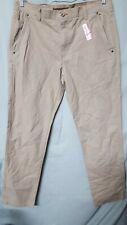 "Outdoor Life Khaki Pants Mens  Cotton  ACTUAL MEASURE 36"" X 33"
