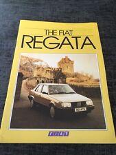 1986 Fiat Regata UK Car Brochure