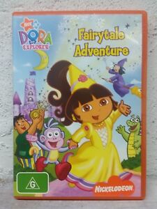 "Dora The Explorer "" Doras Fairytale Adventure "" : DVD - Nickelodeon - REGION"
