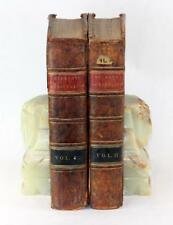 1805 Practical Agriculture Complete System of Modern Husbandry R W Dickson 2 Vol