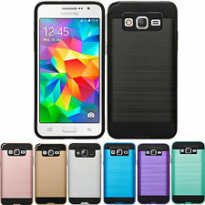 lot 6 Armor Box Metal Brushed Tough Shockproof Protector Case note 5 8 S7 EDGE