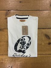 Thomas Browne Crew Neck T Shirt/ecru/size Medium