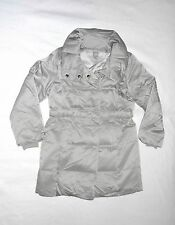 New Without Tags J. Jill Silver Down Coat Size S!