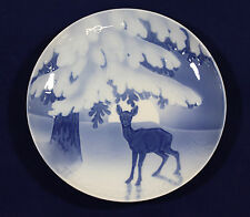 1905 Bing and Grondahl Christmas plate 'Anxiety of the Coming Christmas Night'