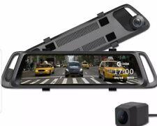 "EHOOM A10 9.88"" Full Touch Screen HD Mirror Dash Camera, Dual Lens Reversing"