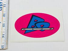 Vintage 80s 90s Sticker Lot #38 Bo Club clothing brand label neon