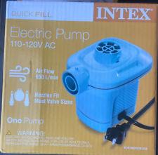 Intex Quick-Fill AC Electric Air Pump, 110-120 Volt