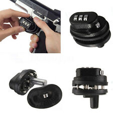 CCOPUSA 3 Dial Combination Gun Trigger Password Lock For Pistol Rifle protector