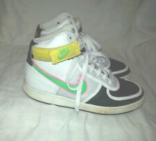 NIKE LEATHER HIGH TOP BASKETBALL SHOES SIZE 7.5 MEN RARE