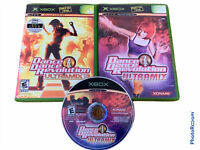 🔥Lot Of 3 • Xbox Dance Dance Revolution Ultramix 1 2 3
