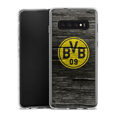 Samsung Galaxy S10 Silikon Hülle Case - BVB Holzoptik