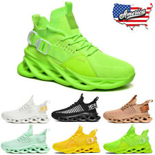 Men's Outdoor Casual Sneakers Breathable Fashion Sports Running Tennis Shoes Gym