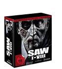 SAW Blu-ray Box I-VIII Definitive Collection NEU OVP Saw Box Teil 1-8 Komplett