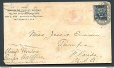 O) 1899 CARIBE, US OCCUPATION IN CARIBE - USA, GUANAJAY CANCEL MILITARY, PRESIDE