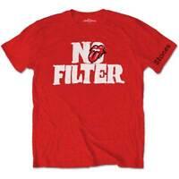 The Rolling Stones No Filter Tour 2018 Official Merchandise T-Shirt M/L/XL - NEU
